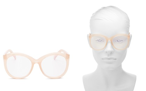The Book Club Women's Love in the Time of a Dollar Round Blue Screen Filter Glasses, 55mm - Bloomingdale's_2