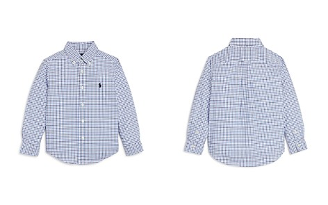 Ralph Lauren Boys' Windowpane Check Button-Down Shirt - Little Kid - Bloomingdale's_2