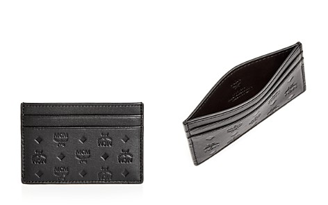 MCM Sigmund Leather Card Case - Bloomingdale's_2