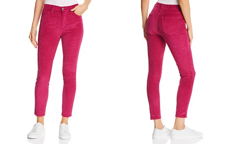 Current/Elliott The Stiletto High-Rise Corduroy Skinny Jeans in Wild Aster - Bloomingdale's_2