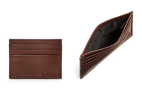 Cole Haan Hamilton Grand Leather Card Case - Bloomingdale's_2
