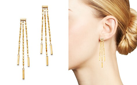 Moon & Meadow 14K Yellow Gold Link Drop Earrings - 100% Exclusive - Bloomingdale's_2