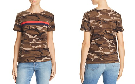 Honey Punch Camo Chest-Stripe Tee - Bloomingdale's_2