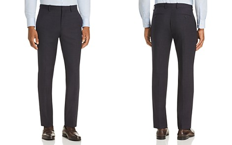 Theory Mayer Tonal Textured-Check Slim Fit Suit Pants - Bloomingdale's_2