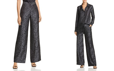 Equipment Arwen Leopard Wide-Leg Pants - Bloomingdale's_2