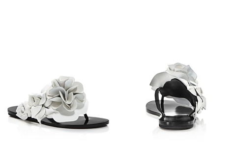 Sophia Webster Women's Jumbo Lilico Flower Open Toe Leather & Suede Slide Sandals - Bloomingdale's_2
