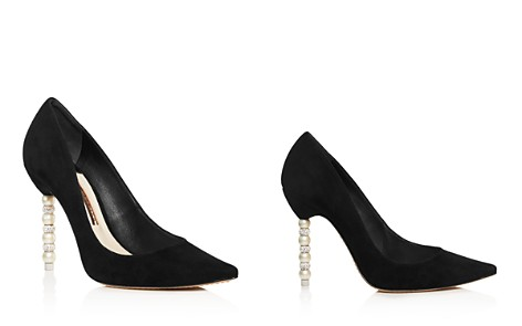 Sophia Webster Women's Coco Pointed Toe Crystal & Faux Pearl Pumps - Bloomingdale's_2