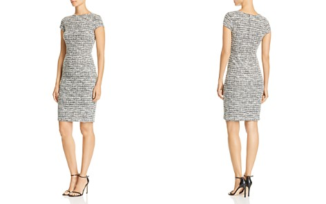 AQUA Tweed Sheath Dress - 100% Exclusive - Bloomingdale's_2