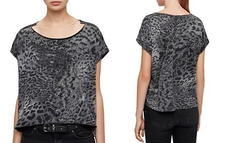 ALLSAINTS Pina Paw Leopard Print Tee - Bloomingdale's_2