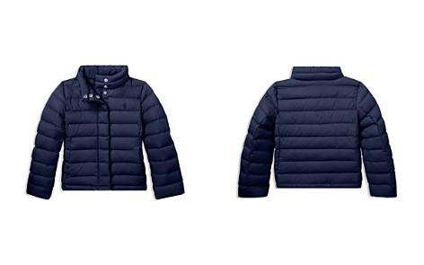 Polo Ralph Lauren Girls' Lightweight Puffer Jacket - Little Kid - Bloomingdale's_2
