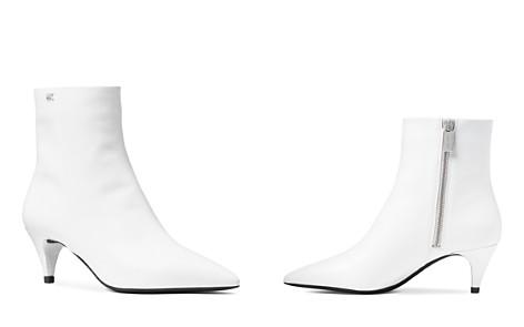 MICHAEL Michael Kors Women's Blaine Leather Flex Kitten Heel Booties - Bloomingdale's_2