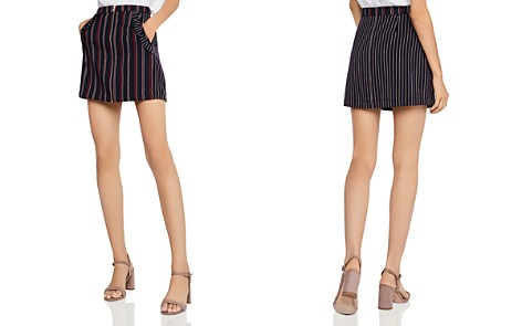BCBGeneration Mixed-Stripe Mini Skirt - Bloomingdale's_2