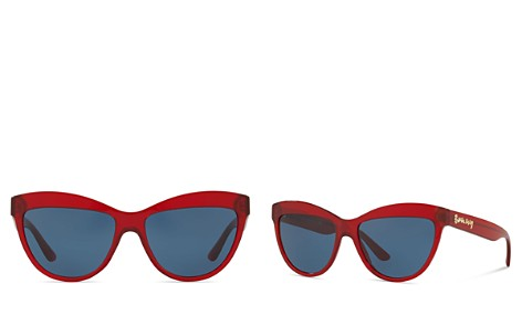 Burberry Cat Eye Sunglasses, 56mm - Bloomingdale's_2