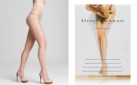 Donna Karan Hosiery Sheer to Waist Tights - Bloomingdale's_2