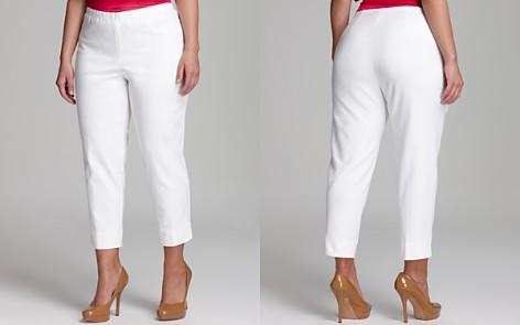 Karen Kane Plus Skinny Capri Pants - Bloomingdale's_2