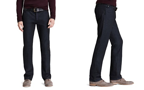 John Varvatos Collection Jeans - Pick Stitch Slim Fit in Navy - Bloomingdale's_2