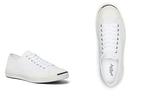 Converse Men's Jack Purcell Leather Lace Up Sneakers - Bloomingdale's_2