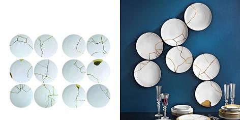 Bernardaud L'Art de la Table Kintsugi by Sarkis Coupe Plates, Set of 12 - Bloomingdale's_2