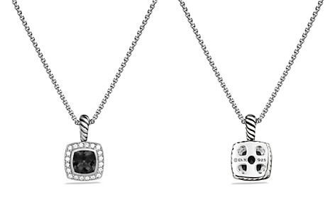 David Yurman Petite Albion Pendant with Black Onyx and Diamonds on Chain - Bloomingdale's_2