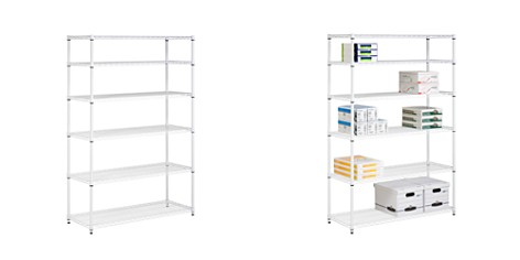 Honey Can Do 6-Tier Shelving Unit, White - Bloomingdale's Registry_2