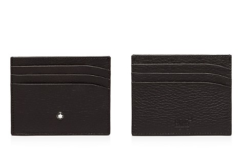 Montblanc Meisterstuck Soft Grain 6 Card Case - Bloomingdale's_2