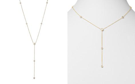 Diamond Station Y Necklace in 14K Yellow Gold, .75 ct. t.w. - Bloomingdale's_2
