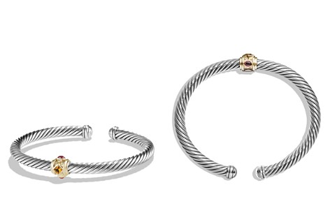 David Yurman Renaissance Bracelet with Citrine, Rhodalite Garnet and 14K Gold - Bloomingdale's_2