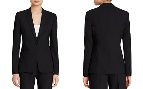 BOSS Jabina Stretch Wool Blazer - Bloomingdale's_2