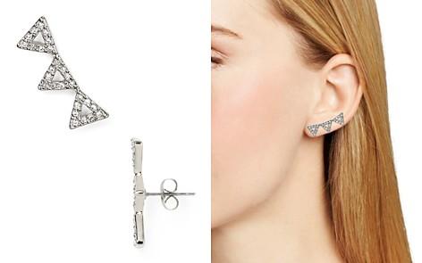 Rebecca Minkoff Triangle Ear Climbers - Bloomingdale's_2