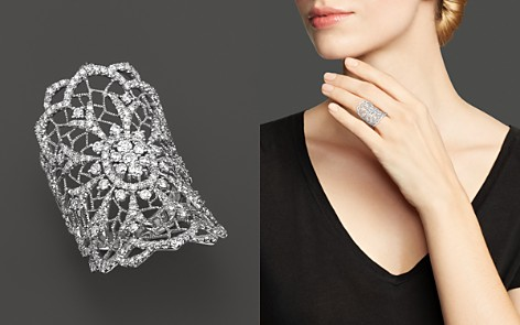 Diamond Statement Ring in 14K White Gold, 1.50 ct. t.w. - Bloomingdale's_2