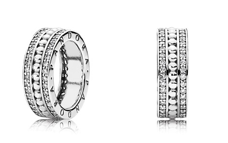 PANDORA Sterling Silver & Cubic Zirconia Forever PANDORA Ring - Bloomingdale's_2