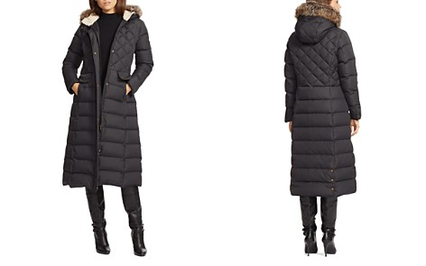 Lauren Ralph Lauren Faux Fur Trim Maxi Puffer Coat - Bloomingdale's_2