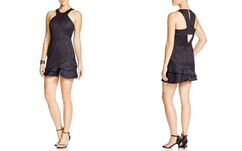 Parker Barcelona Cutout Ruffled Jacquard Dress - Bloomingdale's_2