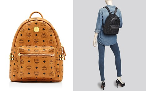 MCM Backpack - Small Stark Side Stud - Bloomingdale's_2