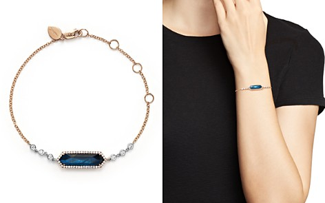 Meira T 14K Rose Gold, Blue Labradorite and Onyx Bracelet with Diamonds - Bloomingdale's_2