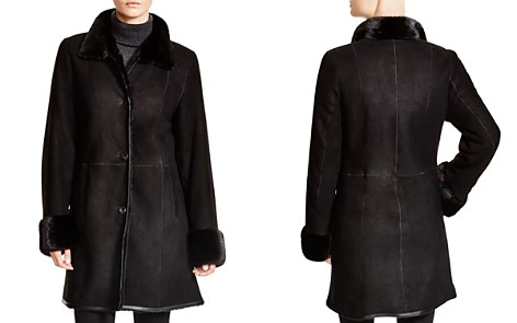 Maximilian Shearling Coat with Mink Collar & Cuffs - Bloomingdale's_2