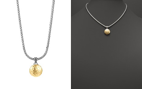 """John Hardy Sterling Silver and 18K Gold Palu Round Pendant on Chain Necklace, 16"""" - Bloomingdale's_2"""