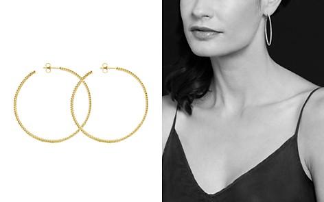 Lagos 18k Gold Hoop Earrings Bloomingdale S 2