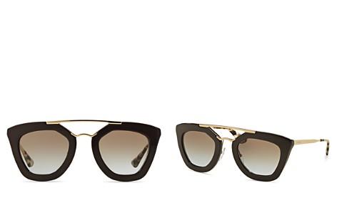 Prada Brow Bar Cat Eye Sunglasses, 49mm - Bloomingdale's_2
