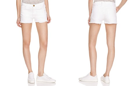 Current/Elliott Shorts - The Boyfriend™ Shorts in Sugar Wash - Bloomingdale's_2