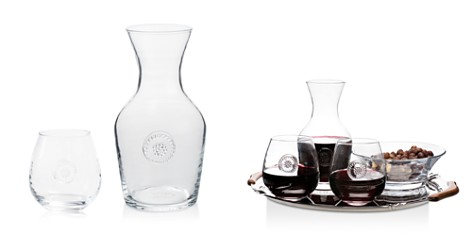 Juliska Berry & Thread Glassware Carafe & Stemless Red Wine Glass Gift Set - Bloomingdale's_2