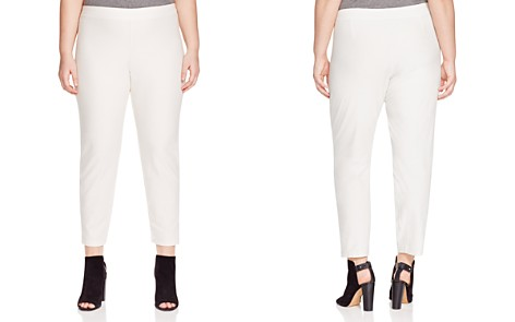 Eileen Fisher Plus System Tapered Pants - Bloomingdale's_2