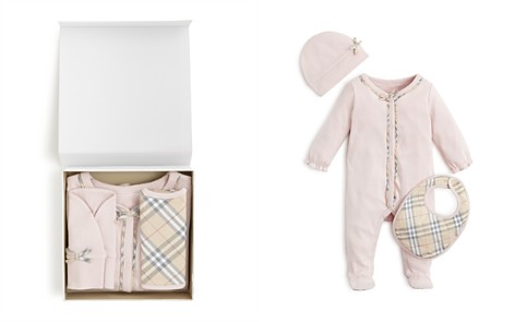 Burberry Girls' Jacey Bodysuit, Hat & Bib Set - Baby - Bloomingdale's_2