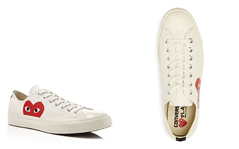 Comme Des Garçons PLAY x Converse Men's Chuck Taylor Lace Up Sneakers - Bloomingdale's_2