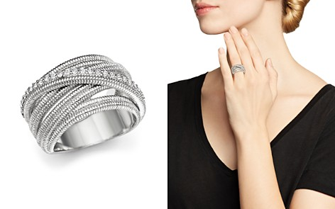 Judith Ripka Multi Band Mercer Wrap Ring with White Sapphire - Bloomingdale's_2