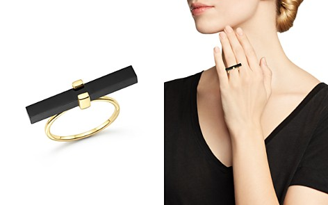MATEO 14K Yellow Gold Cross Bar Ring with Black Onyx - Bloomingdale's_2