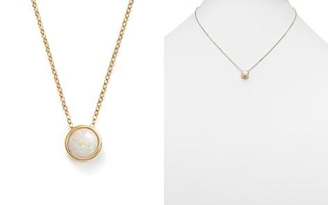 "Opal Bezel Set Pendant Necklace in 14K Yellow Gold, 18"" - 100% Exclusive - Bloomingdale's_2"