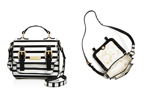kate spade new york Girls' Patent Leather Striped Scout Bag - Bloomingdale's_2