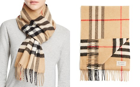 Burberry Giant Icon Check Cashmere Scarf - Bloomingdale's_2