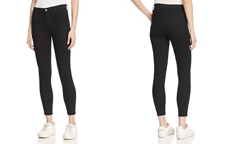 J Brand Alana Crop High Rise Jeans in Vanity - Bloomingdale's_2